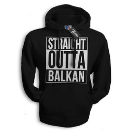Balkan Apparel - Straight Outta Balkan Hooded Sweat Herren