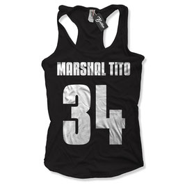 "Balkan Apparel - Marshal Tito ""Number"" Damen Tanktop"