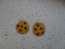 Boucles d'oreilles Cookies