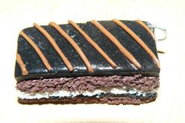 Pendentif fourré au chocolat