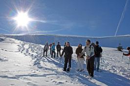 Sonntag, 05.02.2017 Schneeschuhtour