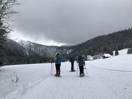 Sonntag, 24.02.2019 2-Seen-Schneeschuhtour im Hochschwarzwald