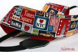 Kameragurt-Kameraband-Reise nach New York