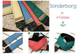 Kameragurt/Kameraband SONDERBORG  in 4 Farben