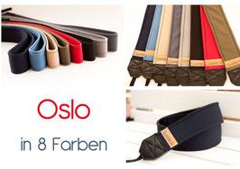 Kameragurt/Kameraband Oslo ⚓ 8 Farben