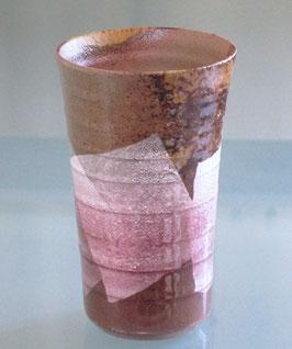 フリーカップ 銀彩 紫