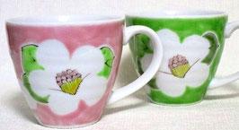 ペアマグカップ 色椿
