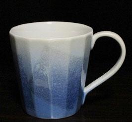 マグカップ 銀彩(青)