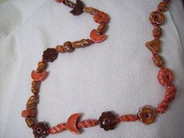 Flower-Power-Halskette