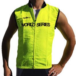 Chaleco de seguridad ciclista, cortavientos alta gama mod. RESPETO 2019