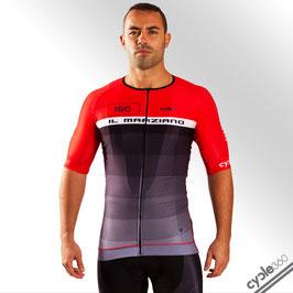 Maillot ciclista media manga alta gama PRO EVO 2018 mod. MARZIANO rojo