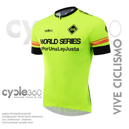 Maillot World Series config. ENDURANCE tope de gama mod. VIVE CICLISMO