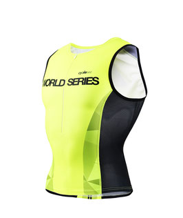 Top triatlón - Conjunto dos piezas World Series DIAMOND