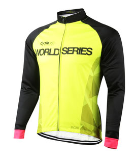 Chaqueta térmica gama WORLD SERIES mod. DIAMOND color amarillo fluorescente