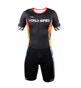 Traje de una pieza triatlón, tope de gama WORLD SERIES 2018 mod. THE SHARK negro