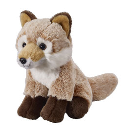 Fuchs sitzend 18cm