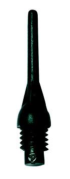 Kunststoffspitzen Medium Tufflex 500er schwarz