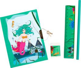 Tagebuch Meerjungfrau mit Zubehör