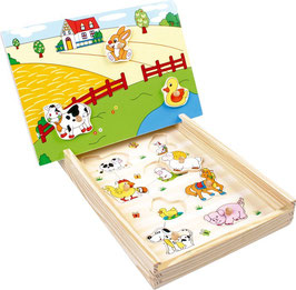 Magnet-Puzzle Farm