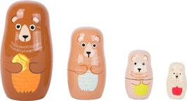 Matrjoschka Bären-Familie