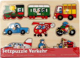 Setzpuzzle Verkehr