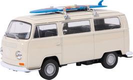 Modellauto VW Bus T2 + Surfbrett