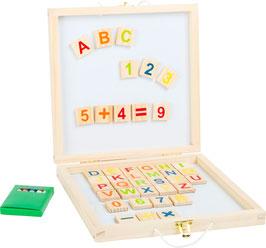 Tafelbox Magnetbuchstaben und -zahlen