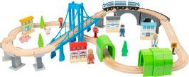 Holzeisenbahn Brückenschlag