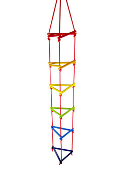 Dreiecksstrickleiter