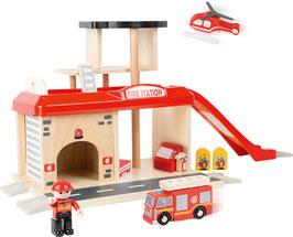 Feuerwehrwache mit Zubehör