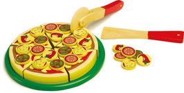 Schneide Pizza