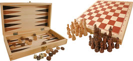 Spieleklassiker im Holzkoffer