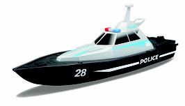 R/C Polizei Boot