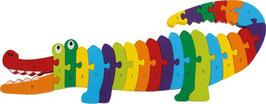 Puzzle Krokodil ABC