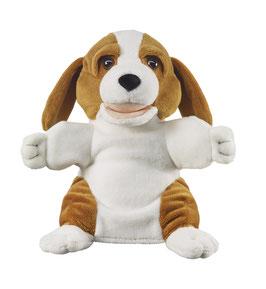 Hund Handpuppe