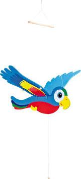 Schwingfigur Papagei