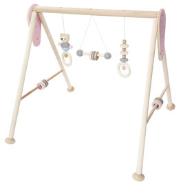 Babyspielgerät nature rosa