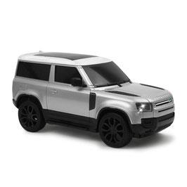 Land Rover Defender 1:24 silber