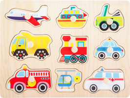 Setzpuzzle Fahrzeuge