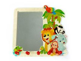Spiegel mit Garderobe Dschungel