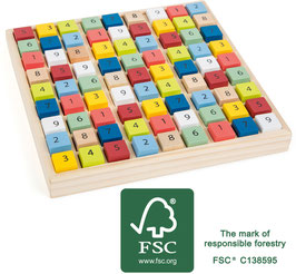 Buntes Sudoku Educate