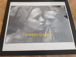 Steve McQueen und Faye Dunaway
