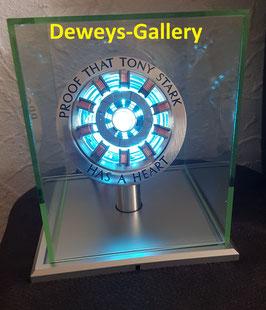 Iron Man Lichtbogenreaktor Herzmarke