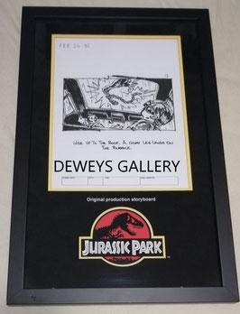 Jurassic Park Original Produktionszeichung