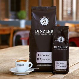 DINZLER Espresso IL Gustoso Bohnen | 1000 g