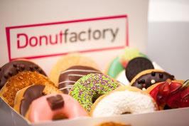 12er Donut-SCHOKO-Box