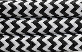"""Textilkabel """"Schwarz-Weiß"""""""