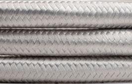 """Textilkabel """"Silber"""""""
