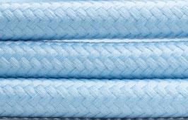 "Textilkabel ""light blau"""