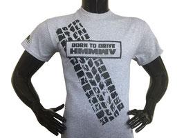 Hummerfreak T-shirt ''born to drive HMMWV''
